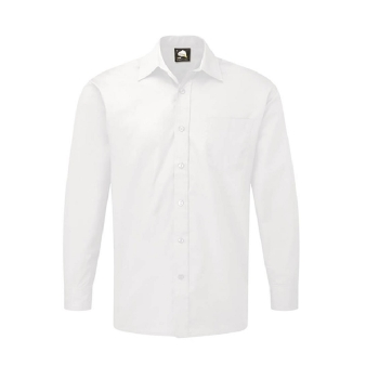 Classic Long Sleeve Shirt White CLLSSW